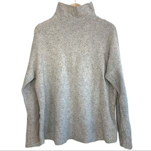 French Connection Mock Neck Wool Blend Sweater